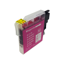 Brother Compatible LC1100 / LC980 Magenta Inkjet...