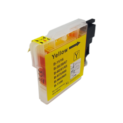 Brother Compatible LC1100 / LC980 Yellow Inkjet Cartridge...