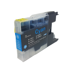 Compatible Brother Cyan LC1280XL Inkjet Cartridge - Free...