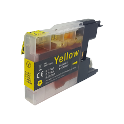 Compatible Brother Yellow LC1280XL Inkjet Cartridge -...