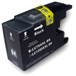 Compatible Brother Black LC1280XXL Inkjet Cartridge