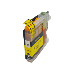 Compatible Brother Yellow LC123 Inkjet Cartridge
