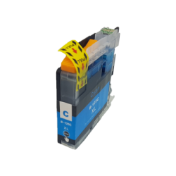Compatible Brother Cyan LC125XL Inkjet Cartridge
