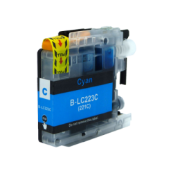 Compatible Brother Cyan LC223 Inkjet Cartridge