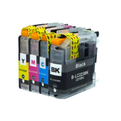 Compatible Brother LC223 set of 4 Inkjet Cartridges