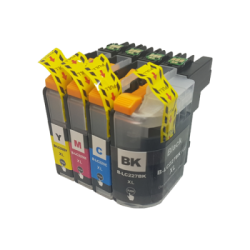 Compatible Brother Black LC225/LC227XL Inkjet Cartridge set