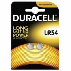 Duracell LR54 1.5v Alkaline (2 pack)