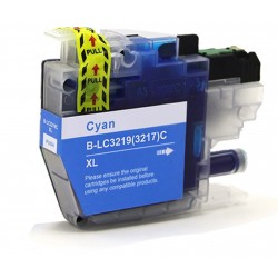 Compatible Brother Cyan LC3219XL Inkjet Cartridge