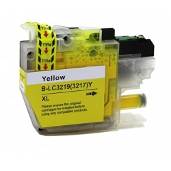 Compatible Brother Yellow LC3219XL Inkjet Cartridge