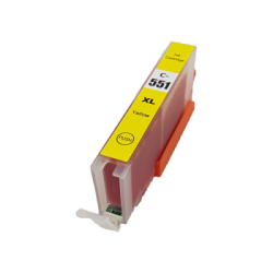 Canon Compatible CLI-551XL Yellow Inkjet Cartridge (WITH...