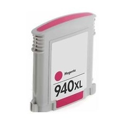 Compatible Magenta HP 940XL Inkjet Cartridge (C4908AE) -...
