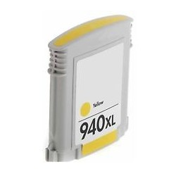 Compatible Yellow HP 940XL Inkjet Cartridge (C4909AE) -...