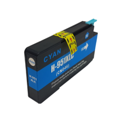 Compatible Cyan HP 951XL Inkjet Cartridge (CN046AE) -...