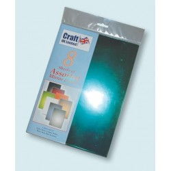 Assorted Mirror Board pack of 8 from CRAFTUK - Available...