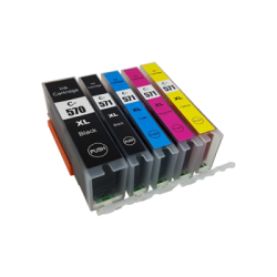 Canon Compatible PGI570/CLI-571XL Inkjet Cartridge set...