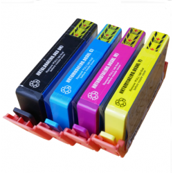 Remanufactured HP903B/903XLCMY set of Ink Cartridges