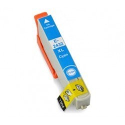 Compatible Epson Cyan 24XL Ink Cartridge (T2422 /T2432)