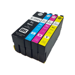 Compatible Epson 35XL Set of Ink Cartridge