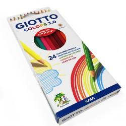 GIOTTO COLORS 3.0 24 COLOURING PENCILS