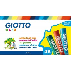 GIOTTO OLIO MAXI OIL PASTELS 48 BOX