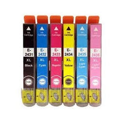 Compatible Epson 24XL Ink Cartridge set (T2428 /T2438)