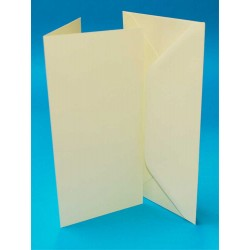 DL Card and Envelope pack of 50 from CraftUK White or...