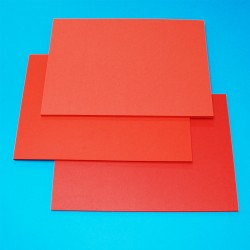 CraftUK 3 Red shades 160gsm Craft Board pack of 60 A5...