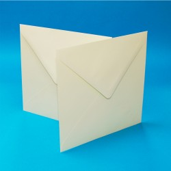 "5"" x 5""Envelope Pack of 50 from CraftUK White or Ivory -..."