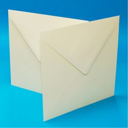 "8"" x 8"" Envelope Pack of 30 from CraftUK White or Ivory -..."