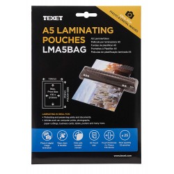 TEXET A5 Laminating pouches (pack of 25)