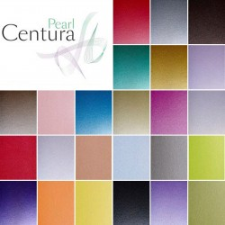Centura Pearlescent A4 single sided card 310gsm pack of 5