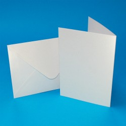 C6 Pearlescent Card and Envelope pack of 20 from CraftUK...