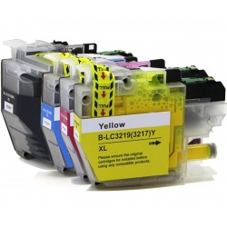 Compatible Brother LC3219XL Inkjet Cartridge SET