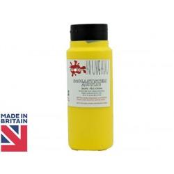 Scola Mid Yellow Acrylic Paint 500ml