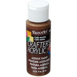 DecoArt Crafters Cafe Mocha acrylic paint 59ml