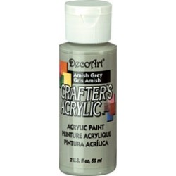 DecoArt Crafters Amish Grey acrylic paint 59ml