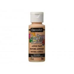 DecoArt Crafters Natural Beige (Flesh) acrylic paint 59ml
