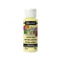 DecoArt Crafters Whipped Butter acrylic paint 59ml