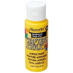 DecoArt Crafters Goldenrod acrylic paint 59ml