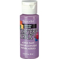 DecoArt Crafters Lavender acrylic paint 59ml