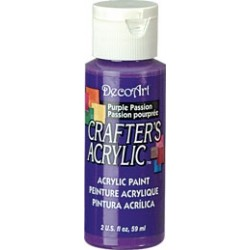 DecoArt Crafters Purple Passion acrylic paint 59ml