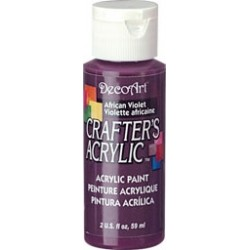 DecoArt Crafters African Violet acrylic paint 59ml