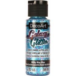 DecoArt Galaxy Glitter Milky Way Blue acrylic paint 59ml