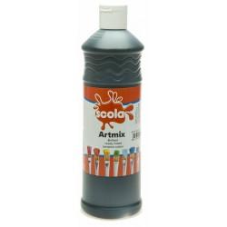 Scola Artmix Ready Mixed Poster Paint Black 600ml