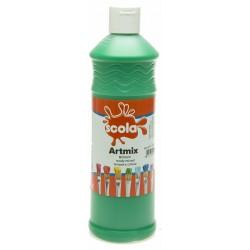 Scola Artmix Ready Mixed Poster Paint  Brillant Green 600ml