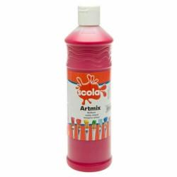 Scola Artmix Ready Mixed Poster Paint Crimson 600ml