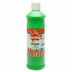 Scola Artmix Ready Mixed Poster Paint Leaf Green 600ml