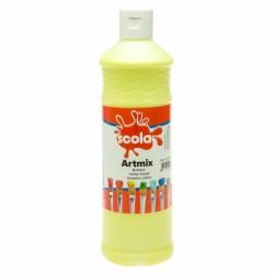 Scola Artmix Ready Mixed Poster Paint Lemon 600ml