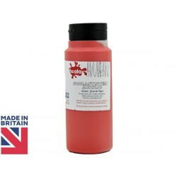 Scola Scarlet Red Acrylic Paint 500ml