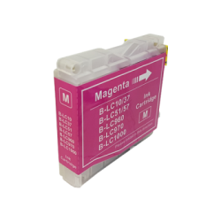 Brother Compatible LC970/LC1000 Magenta Inkjet Cartridge...